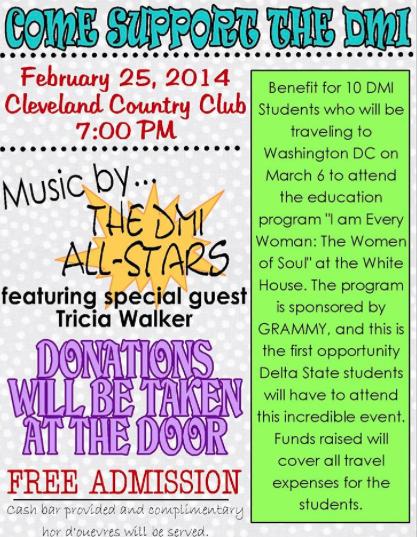 Come Support the DMI