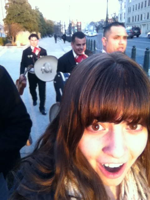 Selfie with Mariachi